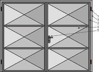 Křídlová vrata