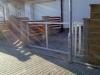 Křídlová brána  v žárovém zinku