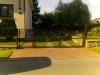 Křídlová brána s braňkou