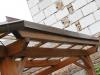 Oplechování střechy u pergoly